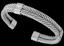 Sterling Silver Cable Bracelets
