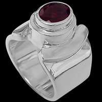 Sterling Silver Gemstone Rings - Gemstone Rings